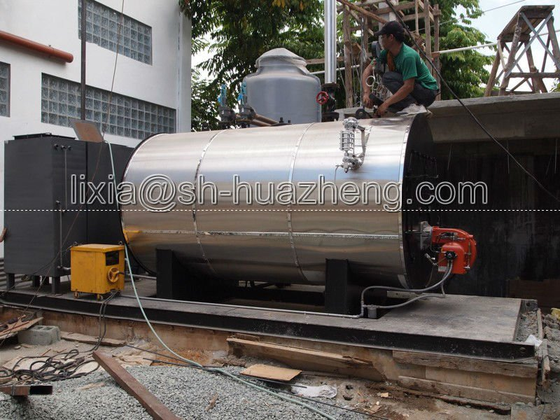 500-6000kg/h Oil / Gas Fired Steam Boiler Price Price