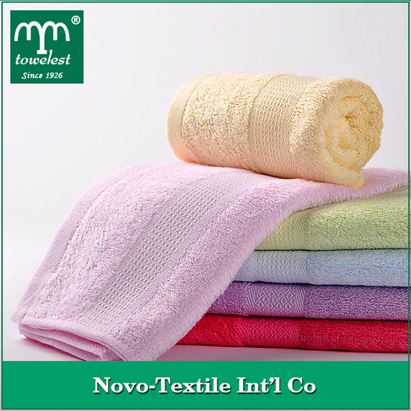 Hot sales!!! Bamboo Fabric Towel Solid Nautical Hand Towels