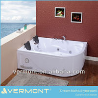 Hot sale sex massage bathtub outdoor spa/hot tub/bathtub for two people in home or hotel VTM-631