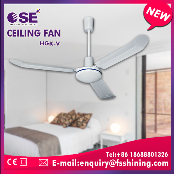 Hot sale summer cooling metal vertical ceiling fan