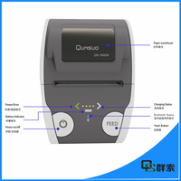 58mm mobile portable barcode bluetooth pocket printer for android tablet/ipad QS5806