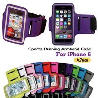 "New Sports Running Armband Case Workout Armband For iPhone 6 4.7"" Cell Mobile Phone Arm Bag"