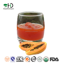 Natural papaya Concentrated Juice, Fermented by Lactobacillus plantarum, Fruit juice