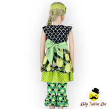 66TQZ242 Yihong Cap Sleeve Floral Top Dress St Patrick's Day&Easter Outfit Girl Baba Suits Children Clothes In Guangzhou