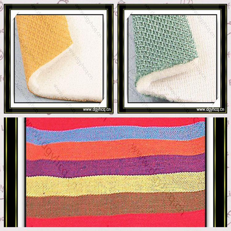 New style tricot fabric& pu memory foam& mesh fabric