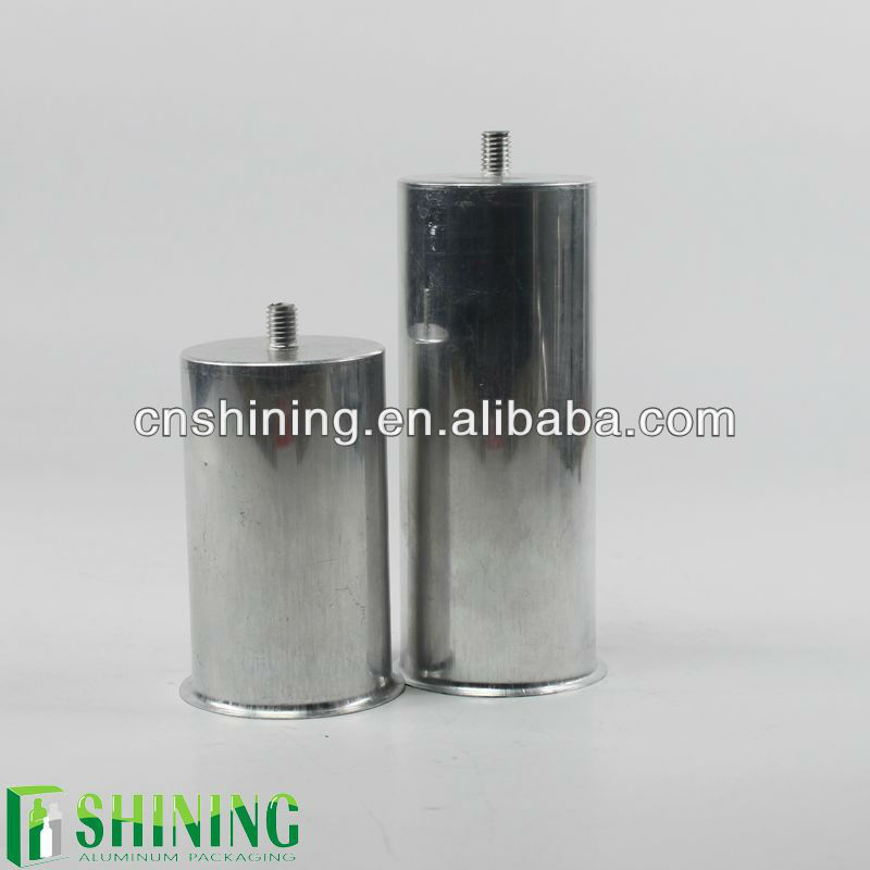 Aluminum cans for 50uf capacitor