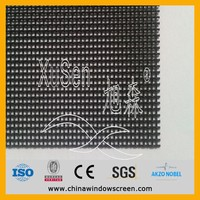 Bullet-proof Anti-theft Anti-cut crimesafe Security Stainelss Steel Screen Mesh for windows,doors,curtain walls (highest quality