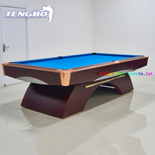 American style natural slate full size portable pool table