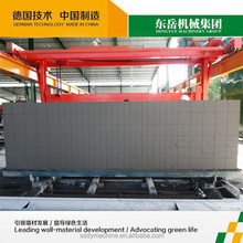 Sand and fly ash lightweight concrete aac block cutting machine