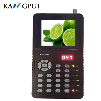 HD KPT-359H showing results for Kangput digital satellite finder