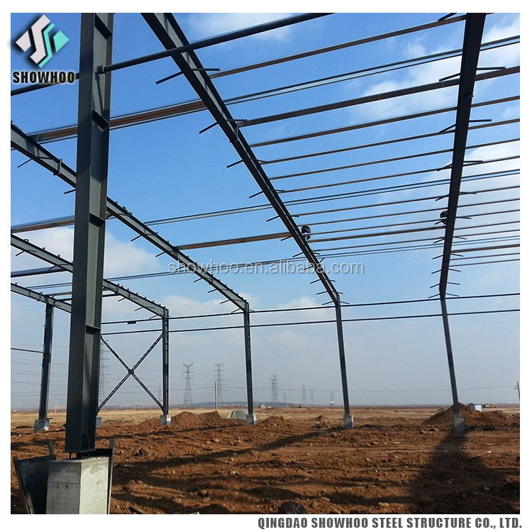 Steel frame prefabricated steel building corrugated steel function hall design buildings