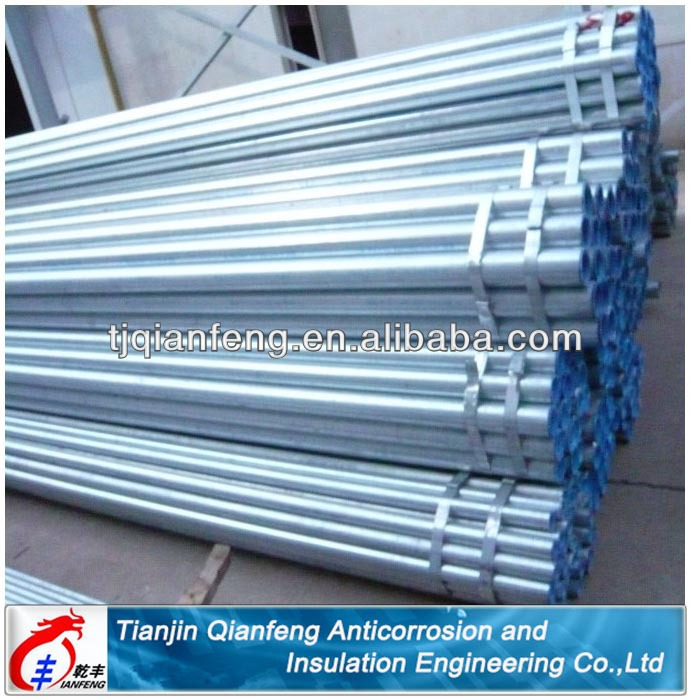 distributor support galvanized steel pipe