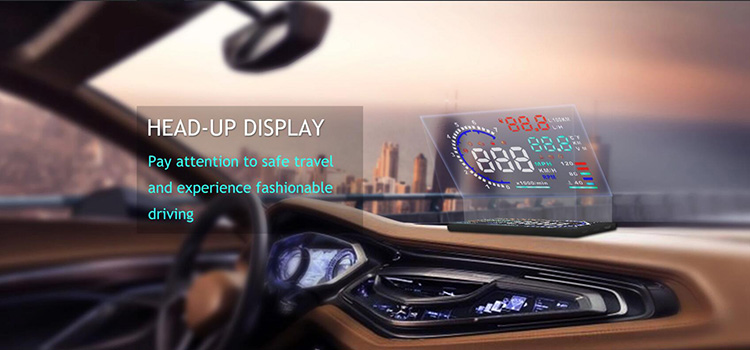 HUD smart gauge universal digital speedometer for car