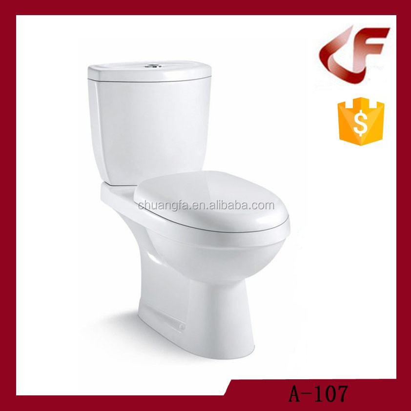 Hot common ceramic toilet two piece
