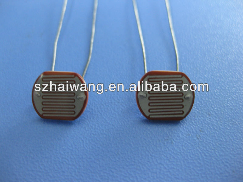 CDS Photoconductive Cell(5mm) for sensor lamp