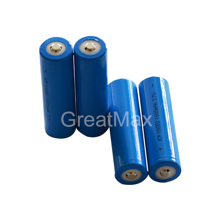 ICR18650 Rechargeable 3.7V 4.2v 1800mAh 18650 li-ion battery