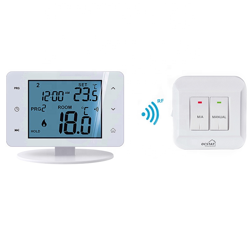 Manual Electric Best Digital Touch Screen Boiler Wifi Smart Thermostat