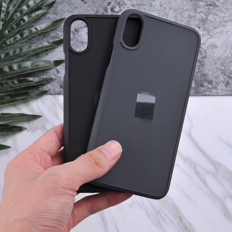 Matte rubber coated groove blank phone cover custom inlay wood case for iPhone x case