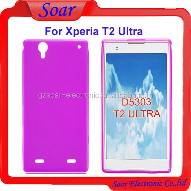 High quality price ultra thin tpu case for Sony Xperia T2 Ultra,colorful gel case for Sony Xperia T2 Ultra