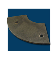 Asphalt Paver Spare Parts Auger Blade Replacement with vogele Asphalt paver for sale