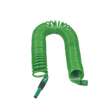 50FT coil garden hose with 2-function nozzle