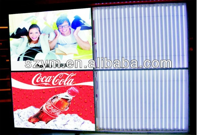 EEFL/LED backlit big size light box signboard