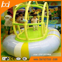 Baiqi inflatable airplane electric indoor playground