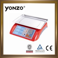YZ-986 new ABS , more colors housing electronic digital price computing pallet scale