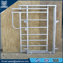 China Factory Heavy Duty Galvanized Livestock Cattle Corral Panels for Sale with Looped Tops