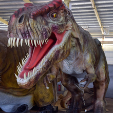 New product 2017animatronic dinosaur statue for sale