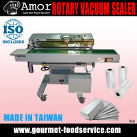 Top Selling Foods Horizontal Nozzle Type Vacuum Bag Band Sealer
