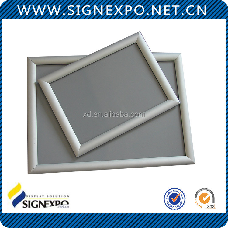 Public Advertising Wall Mounted Snap Picture Frame
