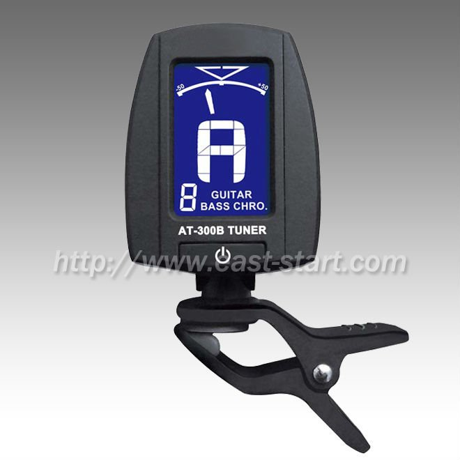 Clip On Headstock Guitar/Bass Tuner