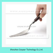 New For PCB BGA 8.5inch Scrape Stainless Steel Blade With Wood Handle Pry Opening Scraper Tools