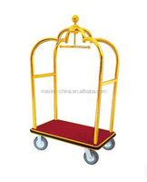 Hotel high quality Luggage trolley with titanium coating