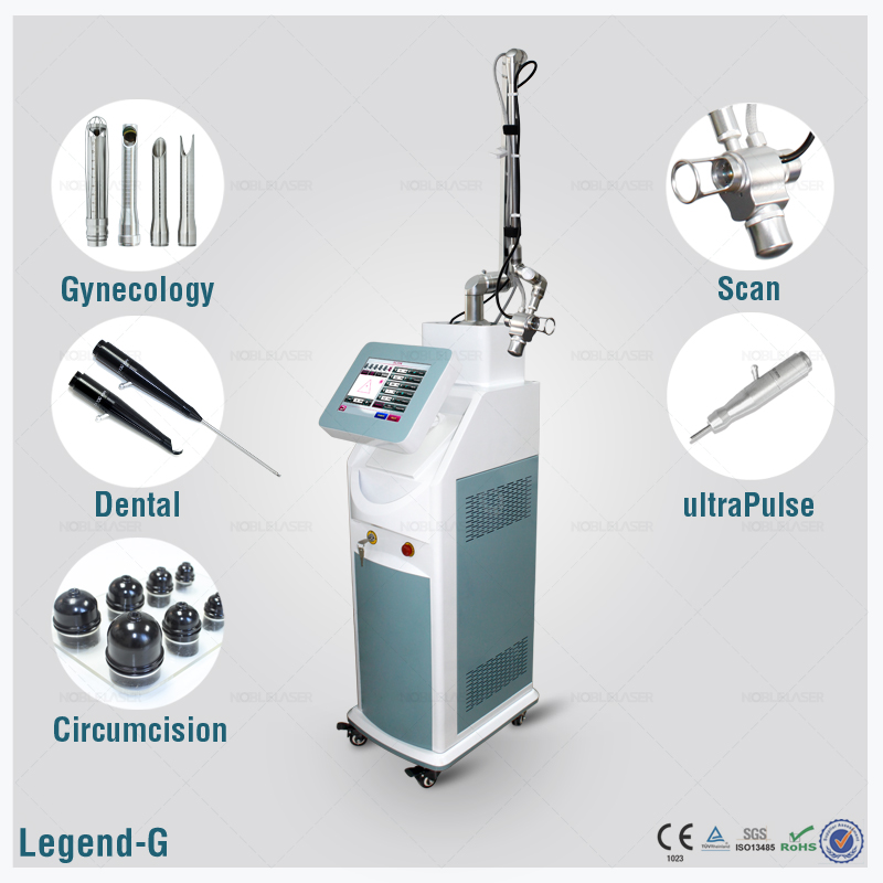 RF Activated Fractional Co2 Laser Machine For Skin Res for pregnant lines removal Scar removal with CE with medical CE and ISO