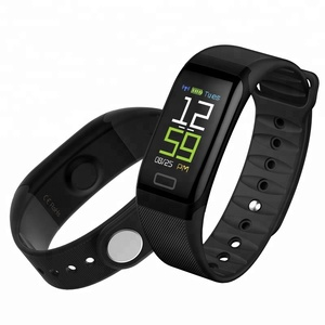 Smart bracelet Bult-in USB Plug IP68 Waterproof TFT Heart Rate Blood Pressure Monitoring Activity Fitness Tracker