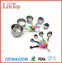 Stainless Steel Measuring Spoons Set for Measuring Dry and Liquid Ingredients