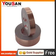 High performance Single Sided Conductive Adhesive Copper Foil Tape for Stained Glass Work