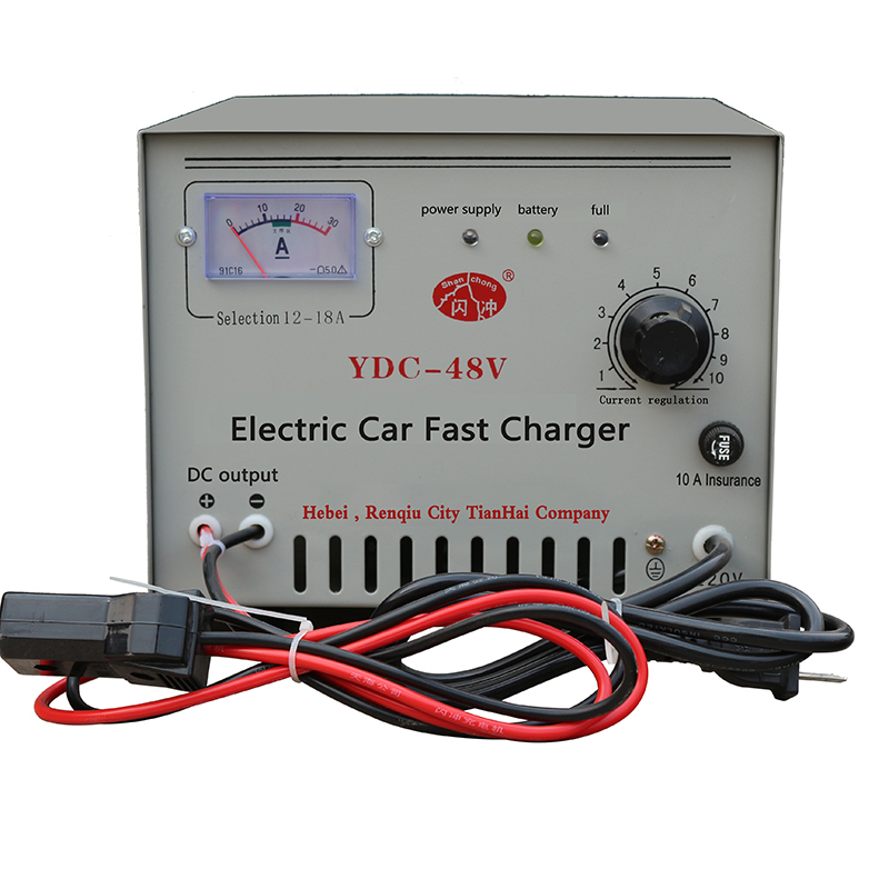 High frequency fast iron 48V intelligent battery charger