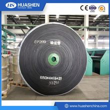 rubber transmission EP conveyor belt for stone crusher machine EP400/3