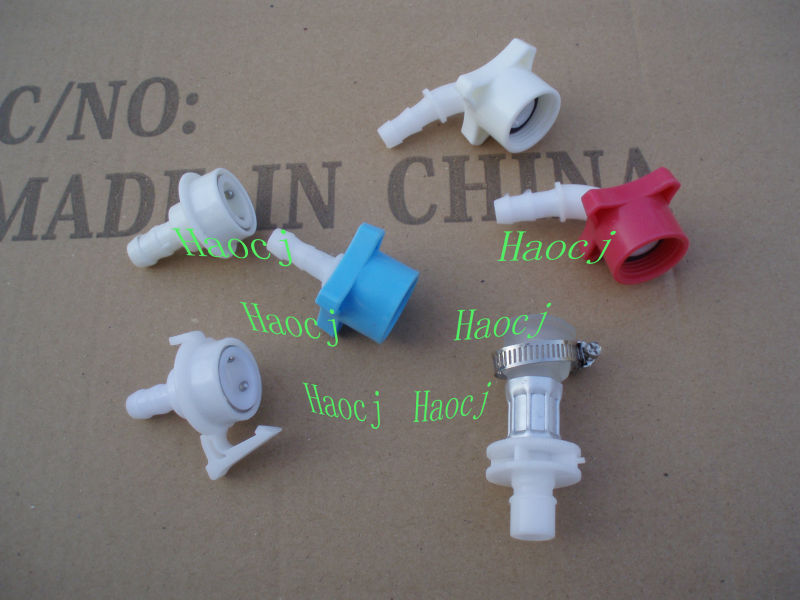 Hot sell colorful connector for washing machine