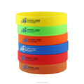 Most Fashionable Eebossed Elastic Silicone Wristband