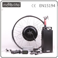 MOTORLIFE/OEM CE ROHS pass 48v 1500w electric bike kit,rear wheel electric bike kit