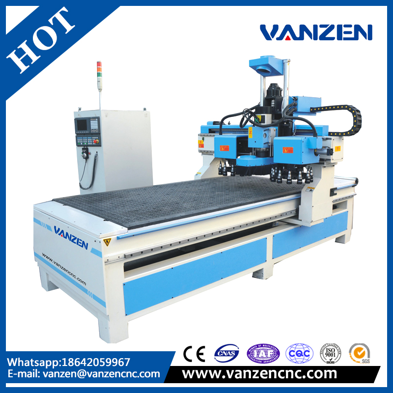 2017 wood cnc router 1325 for furniture industry made in China
