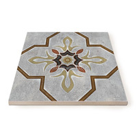 PM2576 bardian handwork in stock gray natural floor balcony cookhouse customized ceramic tile