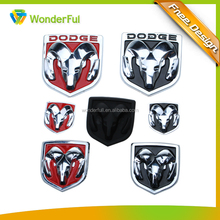 Custom Branded Chrome Car Emblems 3D Car Grille Emblem