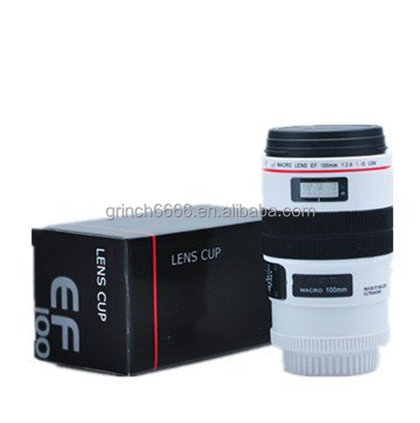 Hotsales Camera Lens Mug lens Coffee Cup White Ef 100mm for Photographer Gift