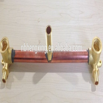 water assembly copper pipe with brass fittings