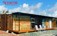 Alibaba Prefabricated Foldable Container Houses and Villas for Hot Sale